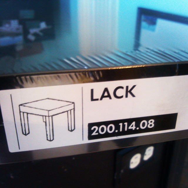 IKEA hack in progress - $5 end table x3 soon to be a padded modular bench. #ikea #ikeahack
