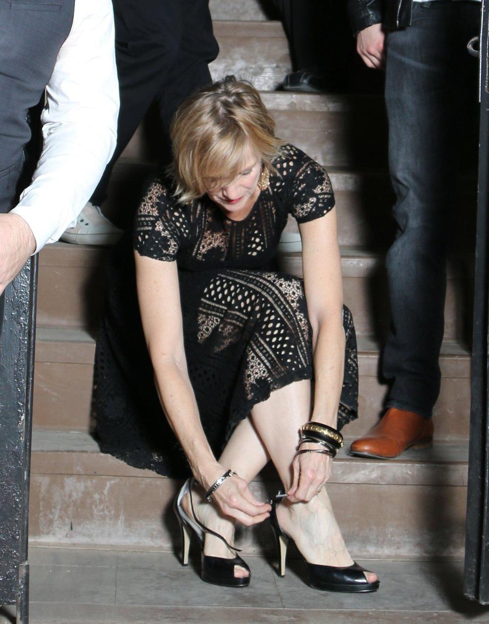 Leisa and shoe.jpg