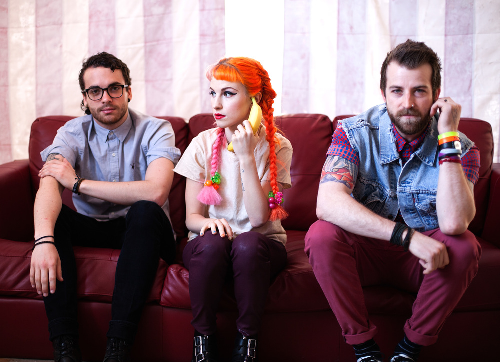Paramore BTS for Ladygunn
