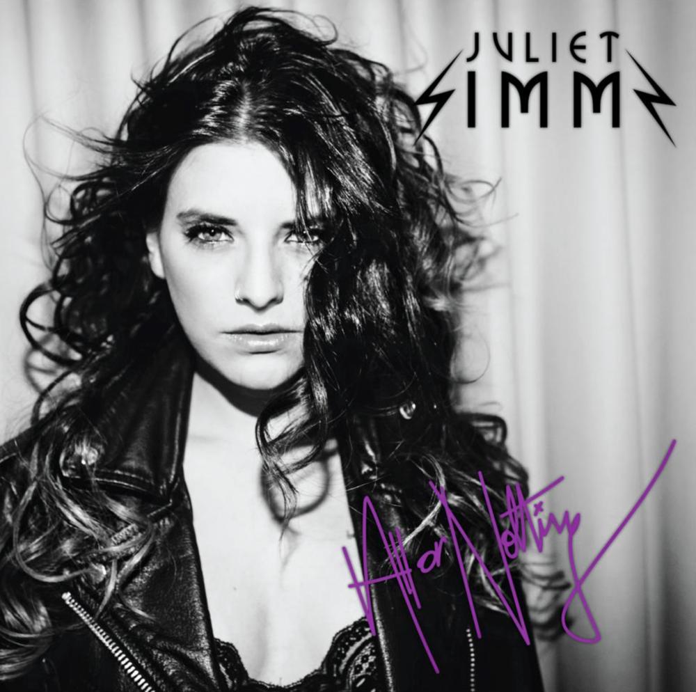 Juliet Simms Album Cover