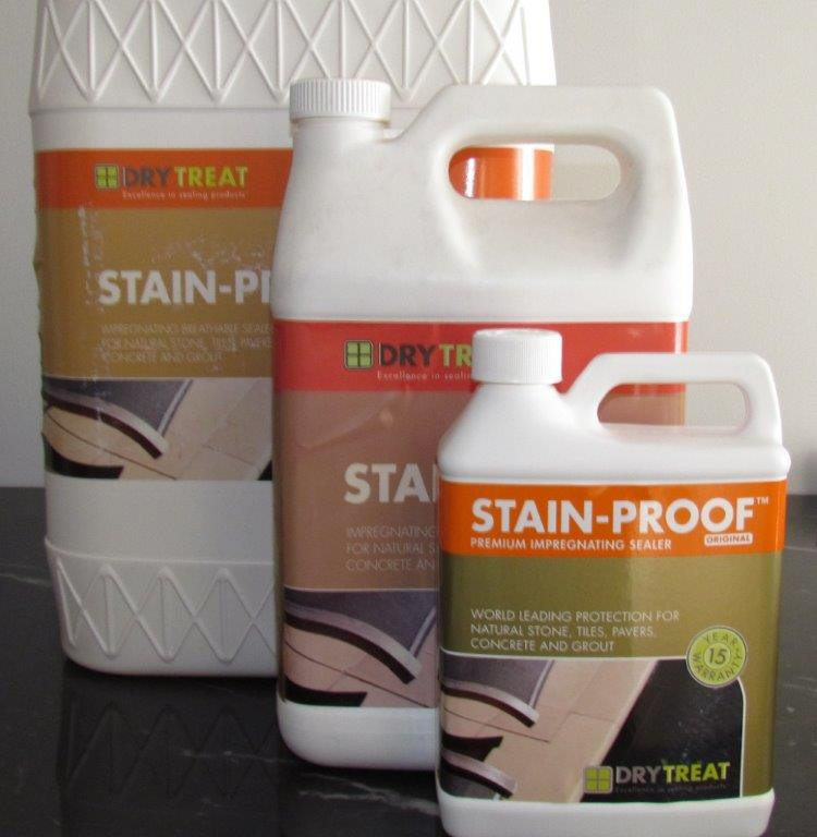 Marble Cleaner And Sealer : Marble bathroom tiles sealer — dry treat sealers and