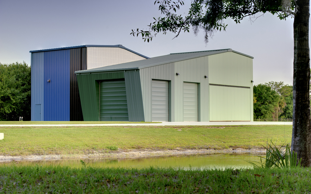 2014 AIATC Design Excellence Award The Copter Hangar Is Located On 200  Acres Of Grass Savannah