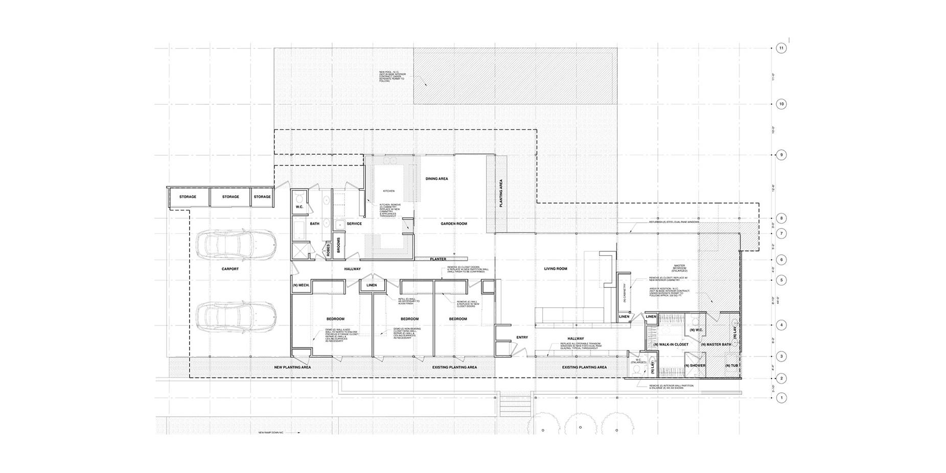 paseo miramar u2014 hughesumbanhowar architects