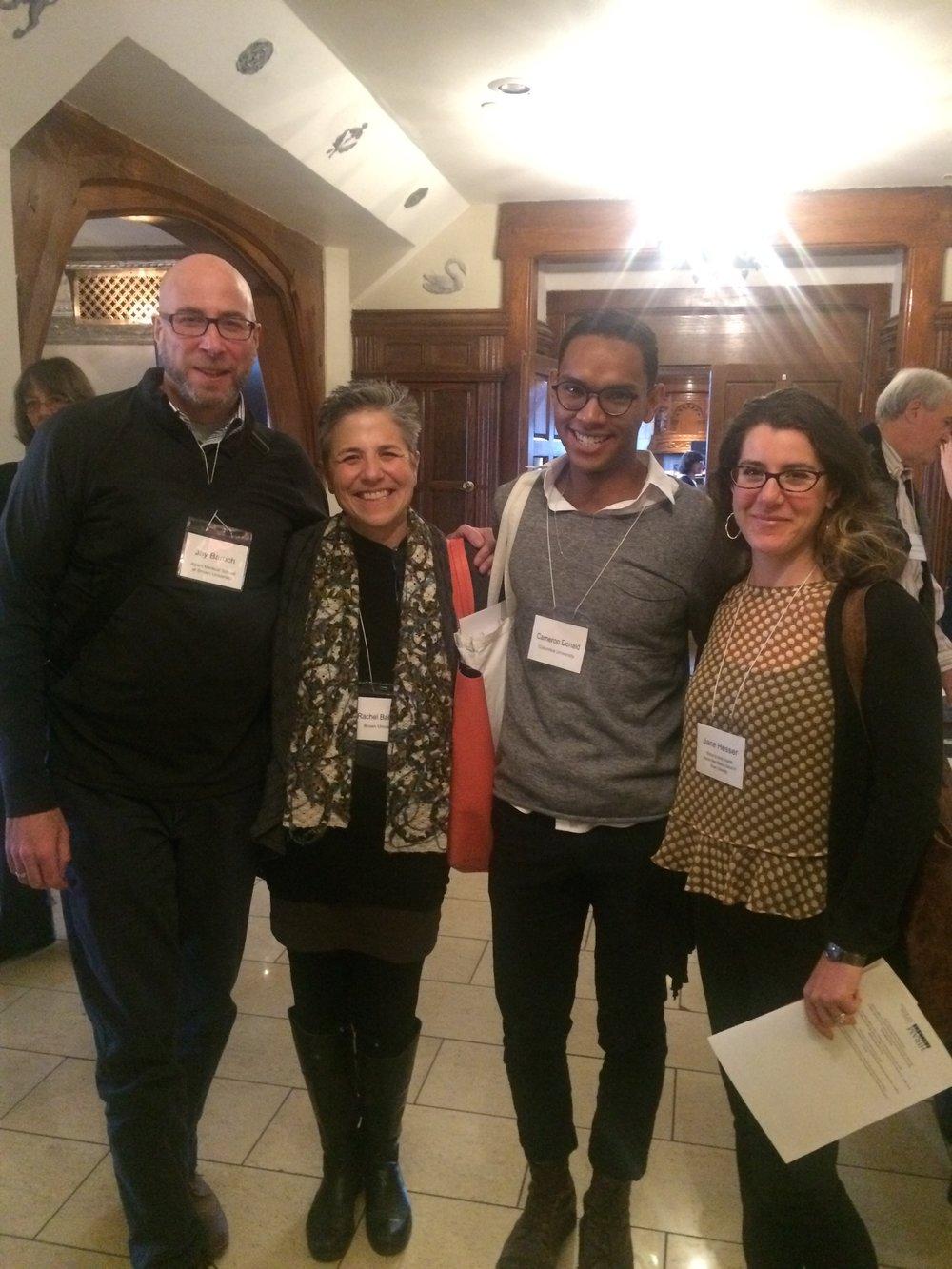 Dr. Jay Baruch, Rachel Balaban, Cameron Donald, Jane Hesser