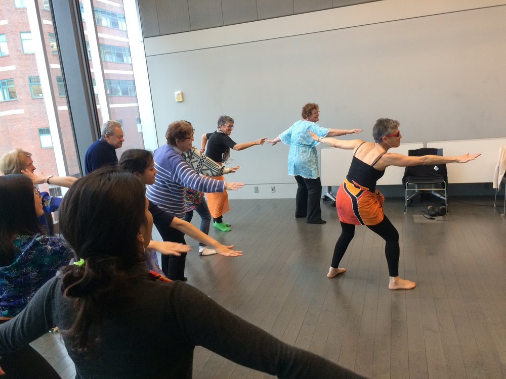 Tuesday DAPpers class, Granoff Center