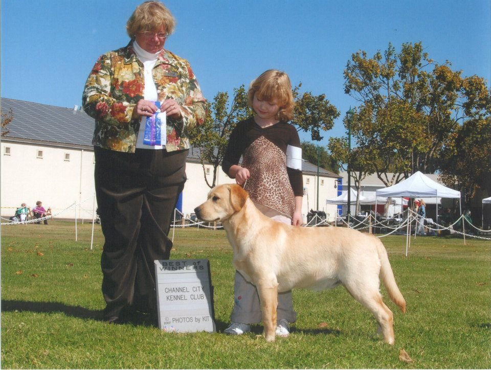 Dutch and I going Best of Winners - October 2007