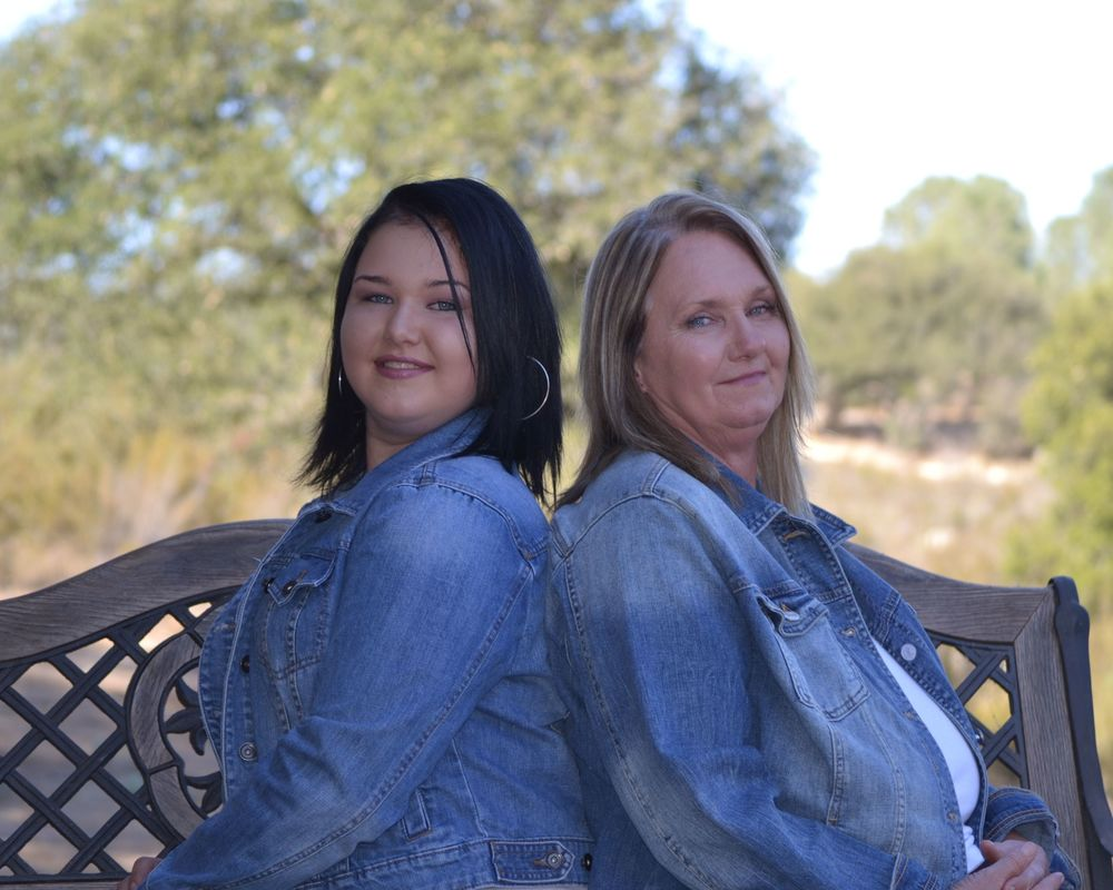 Tricia (R) and Mallori (L) - the heart and soul of Jackpot Farms.
