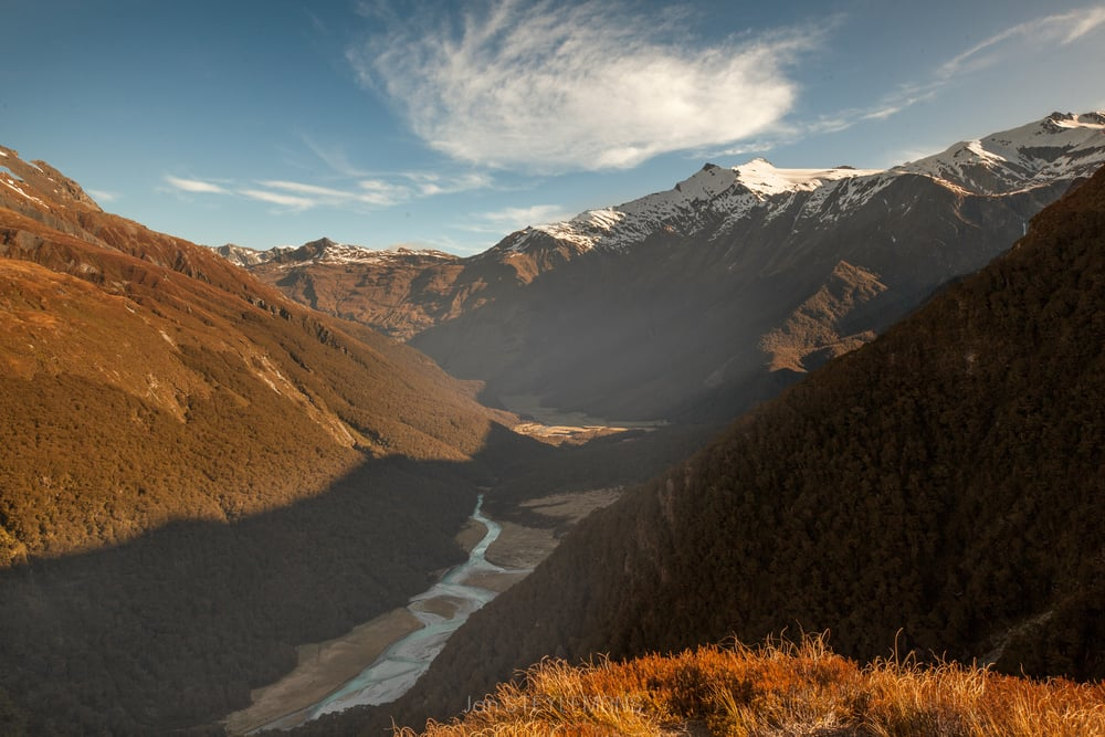 Sight from Liverpool hut, Mount Aspiring National Park, New Zealand