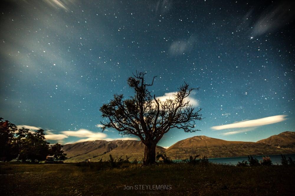 Lake Ohau, New Zealand