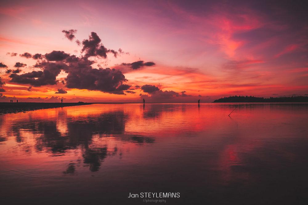 1. Pink sunset - Koh Phangan, Thailand