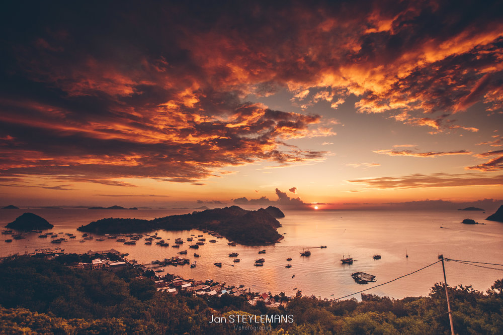 23. Sunset over Labuan Bajo, Indonesia