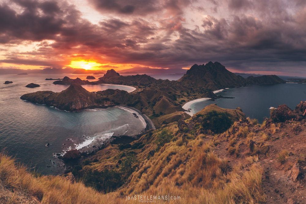31. Catching last light, Padar Island, Komodo National Park, Indonesia