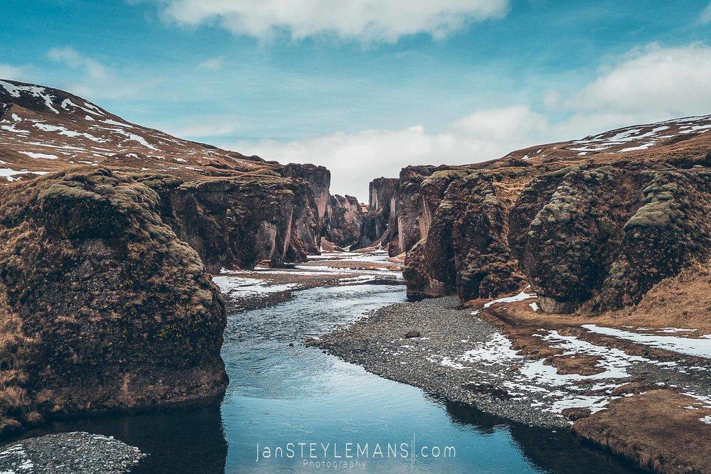 65. Fjaoragljufur, Iceland.