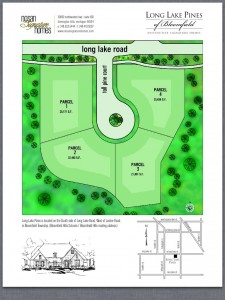 Site drawing for Long Lake Pines