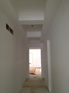 Upstairs Drywall