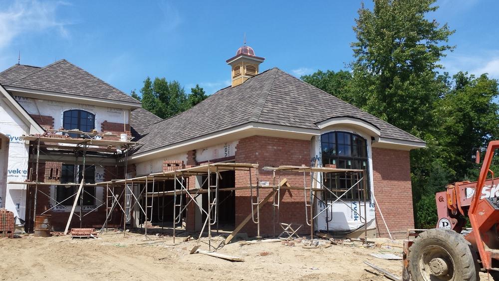 Copper cupola tops it off!