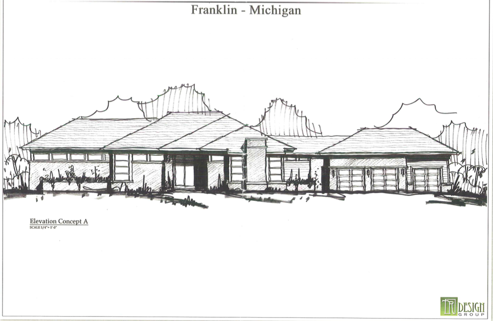Front Elevation Option A