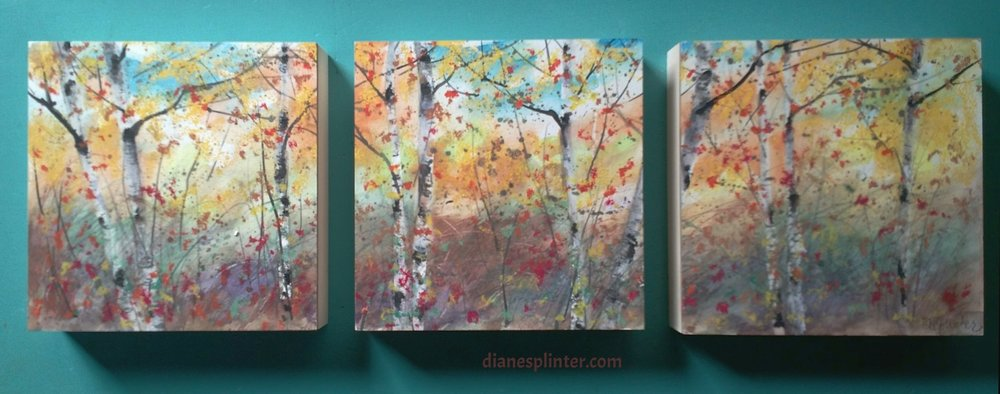 Driftless Fall Triptych - Sold