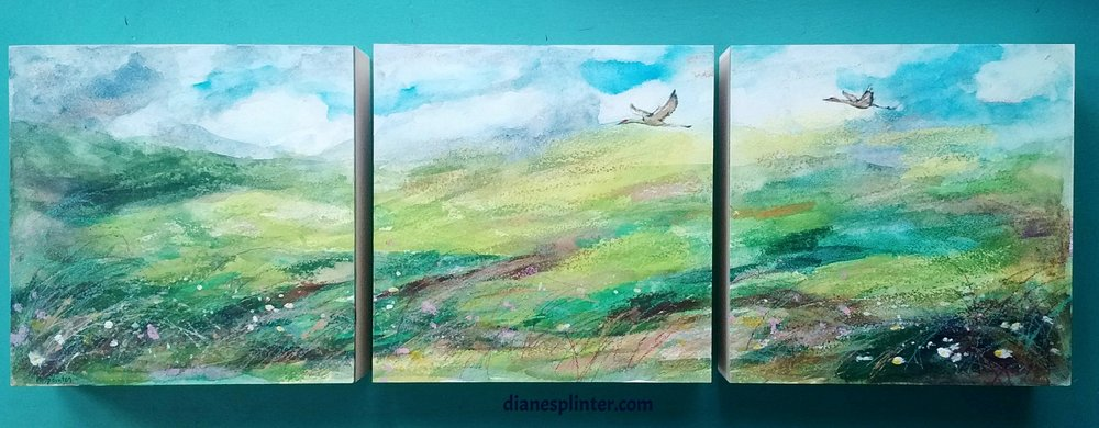 Driftless Soaring Triptych No. 3