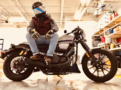 Winter blues on the 2015 Yamaha Bolt C-Spec