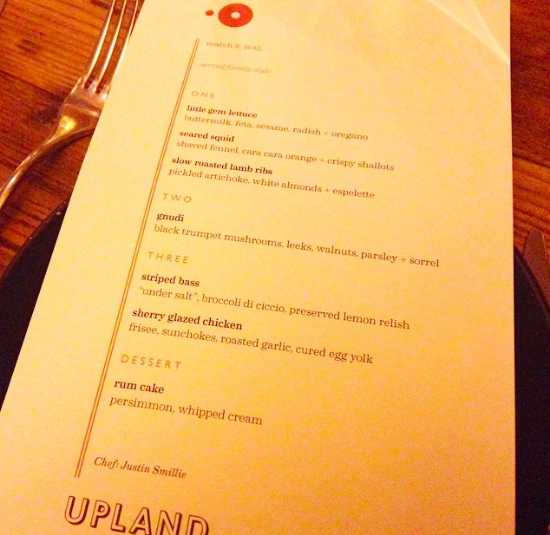 InsiderAccess OpenTable X Upland Media Dinner The Sowmya Life - Open table menu