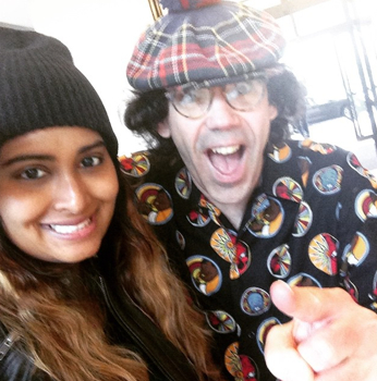 Selfie with the man, the myth, the legend…Nardwuar in my hotel lobby