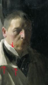 Anders Zorn: Självporträtt.NM 1510