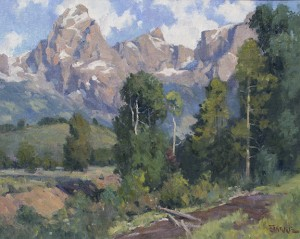 summer in the tetons16x20 small