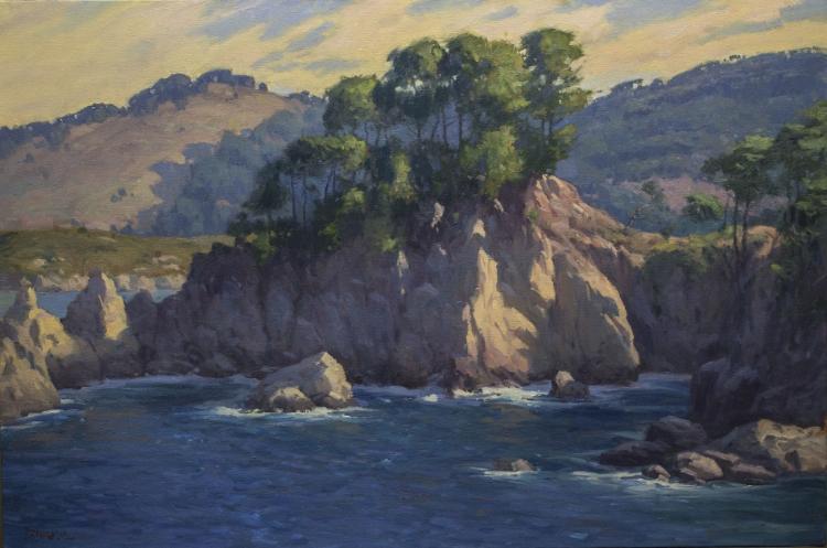 Point Lobos 24x36 oil