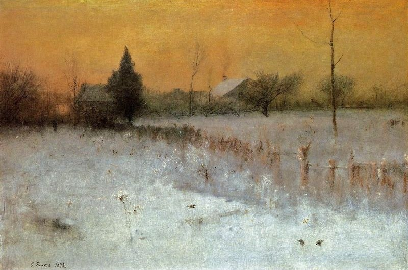 George Inness (American Hudson River School & Tonalist Painter, 1825-1894) Home at Montclair.jpg