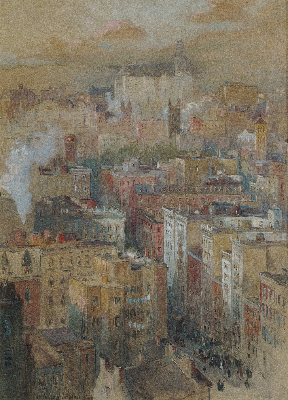 Colin Campbell Cooper (American, 1856–1937) | View of New York City.jpg