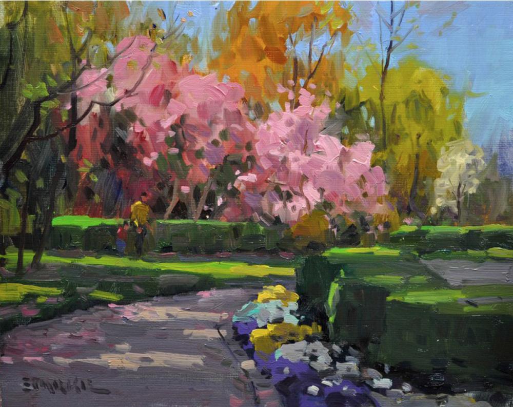 Central Park, Morning Light - oil - 9 x 12.png