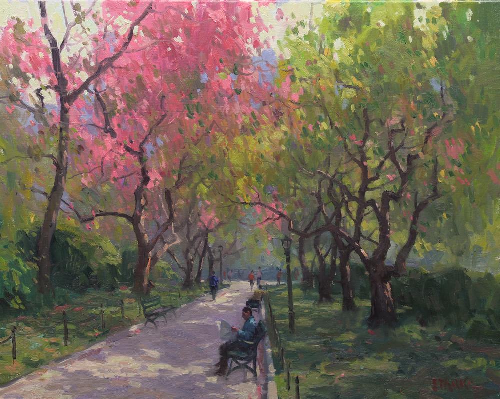 Spring in Central Park 16x20 $3,600..jpg