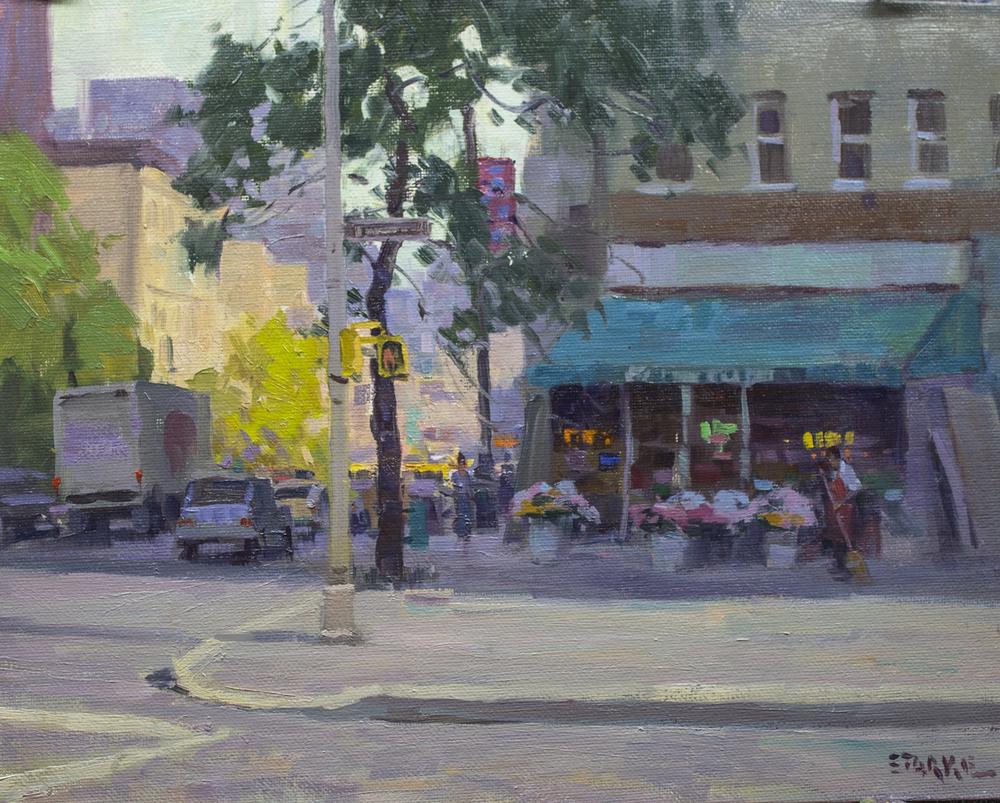 Bleeker Street - oil - New York, NY