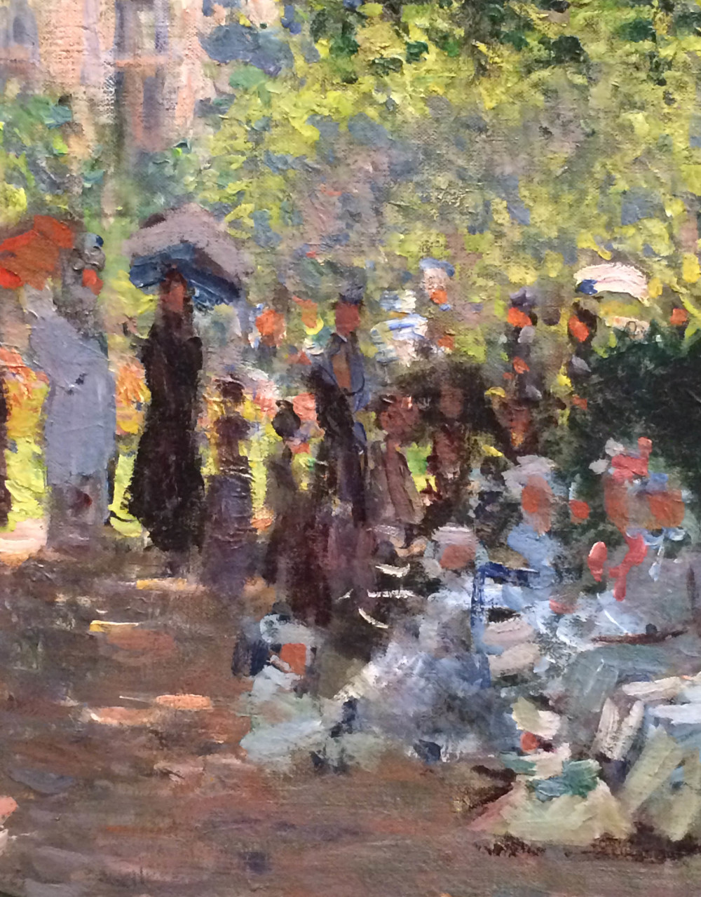 """""""The Parc Monceau"""" by Monet - click image to enlarge"""