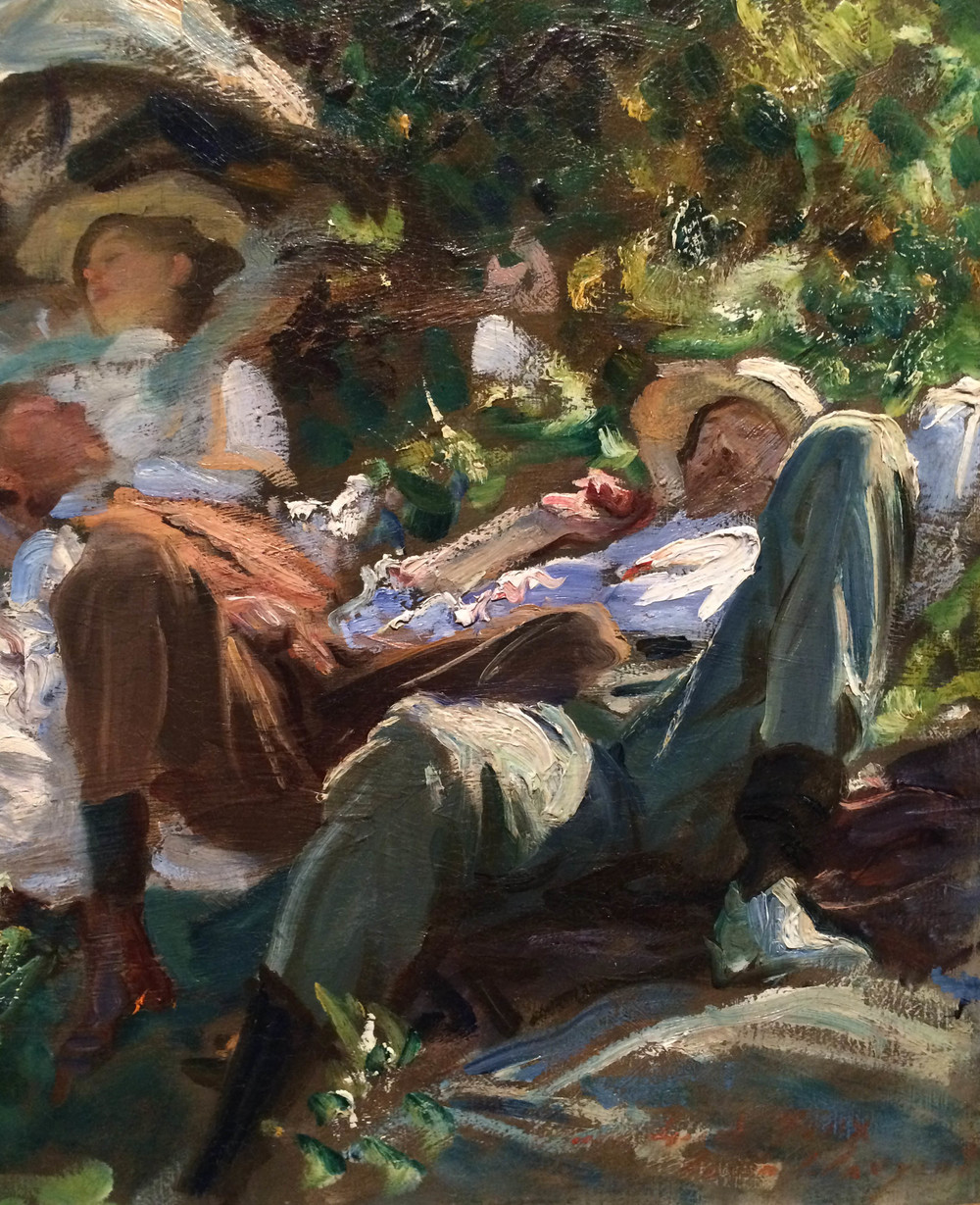Detail of Sargent painting - click image to enlarge