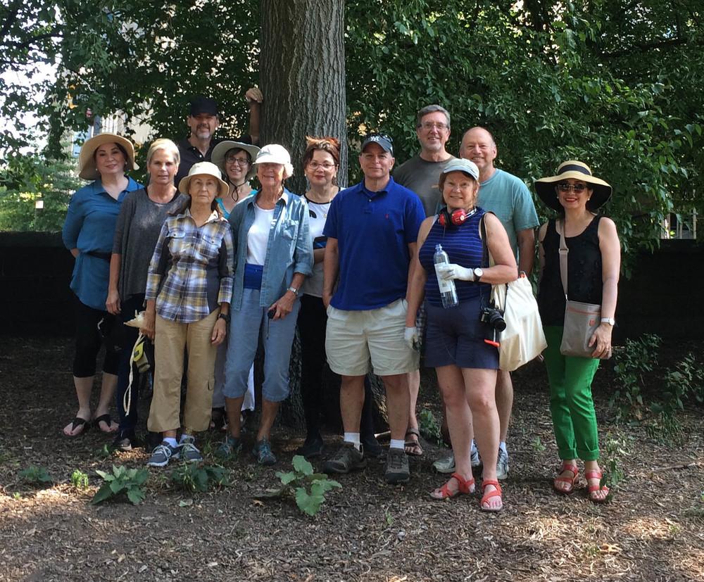 The Central Park Workshop group - Sept. 2015 - click to enlarge