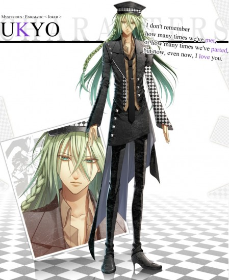 Ridiculous design of main guy you are supposed to end up with in Amnesia.  He kills you a lot though.