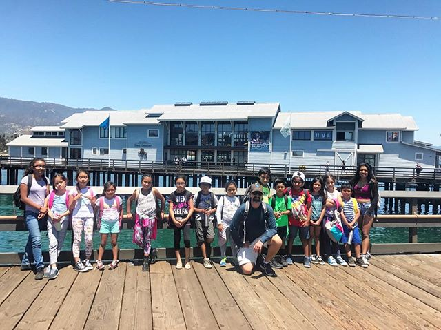 Super fun day with our little Ocean Warriors learning all about our local ocean! Thanks so much Sea Center for sponsoring this super fun day! 💙🌊💙 #playtoprotect #santabarbara #seacenter