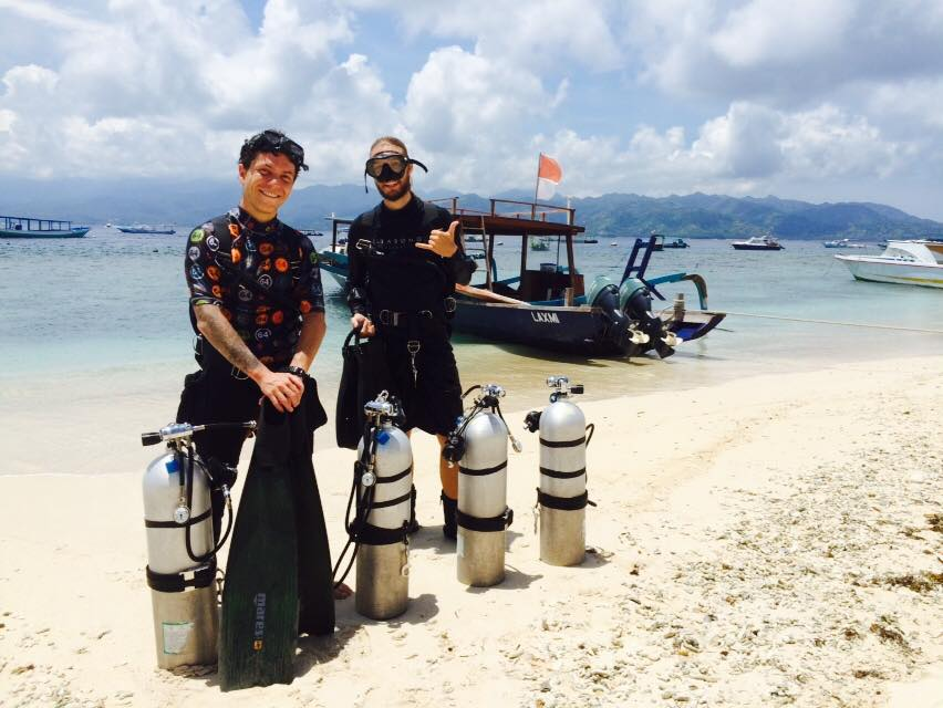 sidemount.diving.indonesia.gilitrawangan