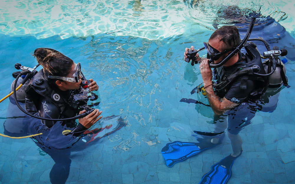 LEARN TO DIVE - Looking to take your first plunge? We help 100's of people gain their first PADI Diving Certification each year.