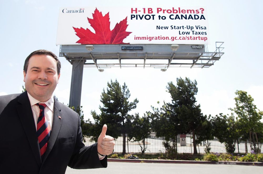 Former Minister of Citizenship & Immigration Canada, Jason Kenney