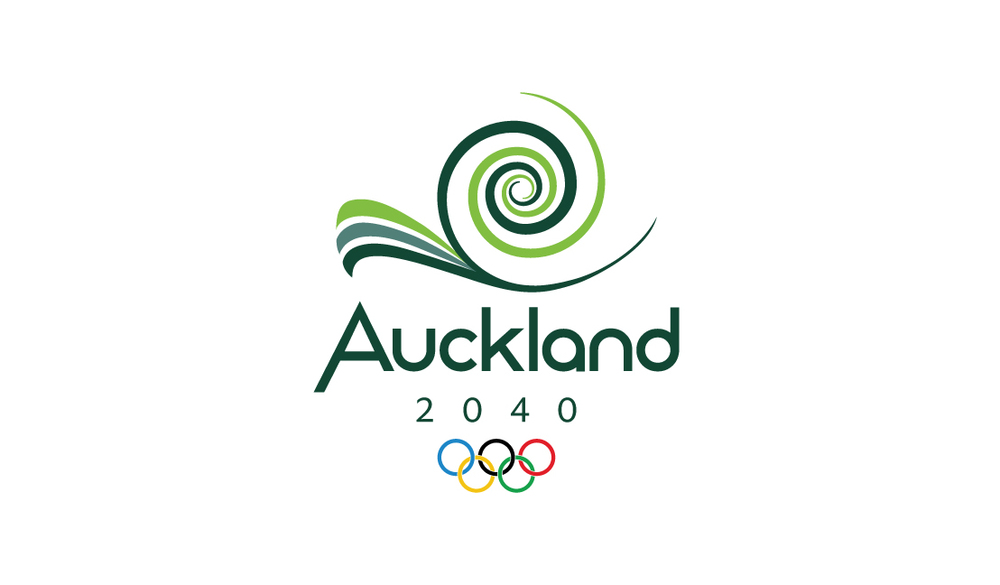 "The spiral is an important shape in the Māori culture and represents new life, growth, strength and peace. The entire symbol represents a curl of a new frond of the silver fern which is New Zealand's national symbol. The point at the top of the ""A"" represents the numerous volcanoes that can be found throughout the city of Auckland and New Zealand."