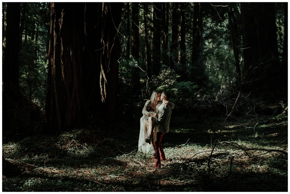 San Francisco - Muir Woods - China Beach Engagement Session -2010.jpg