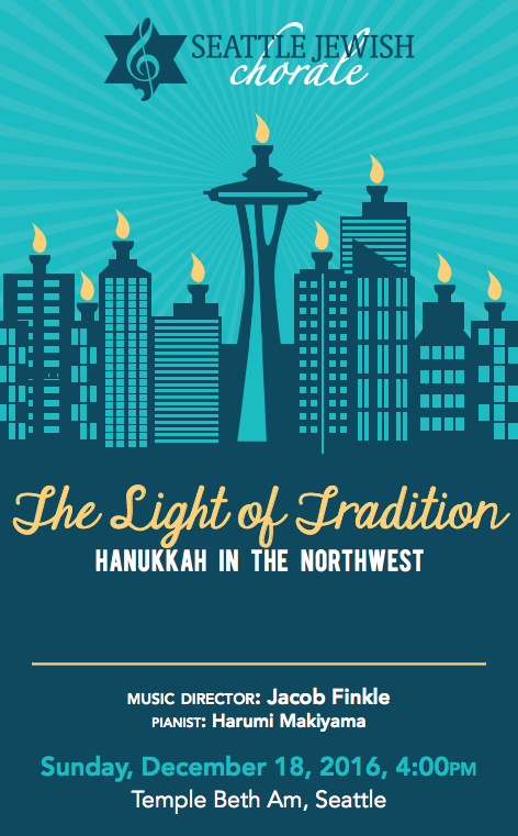 The Light of Tradition - Hanukkah in the Northwest 2016 Concert