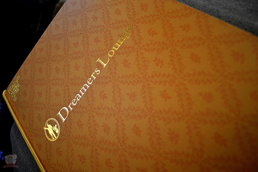 Dreamer's Lounge Menu