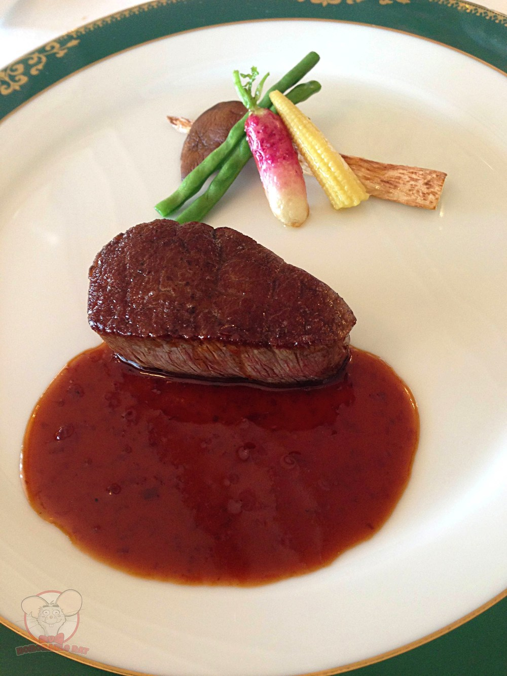 Main dish 2: Tenderloin steak
