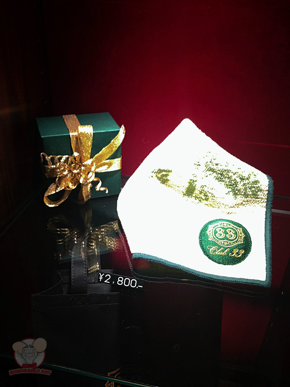 Club 33 Handkerchief
