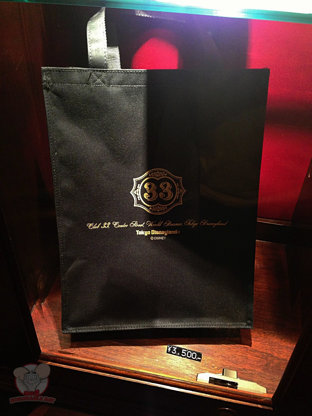 Club 33 Tote Bag