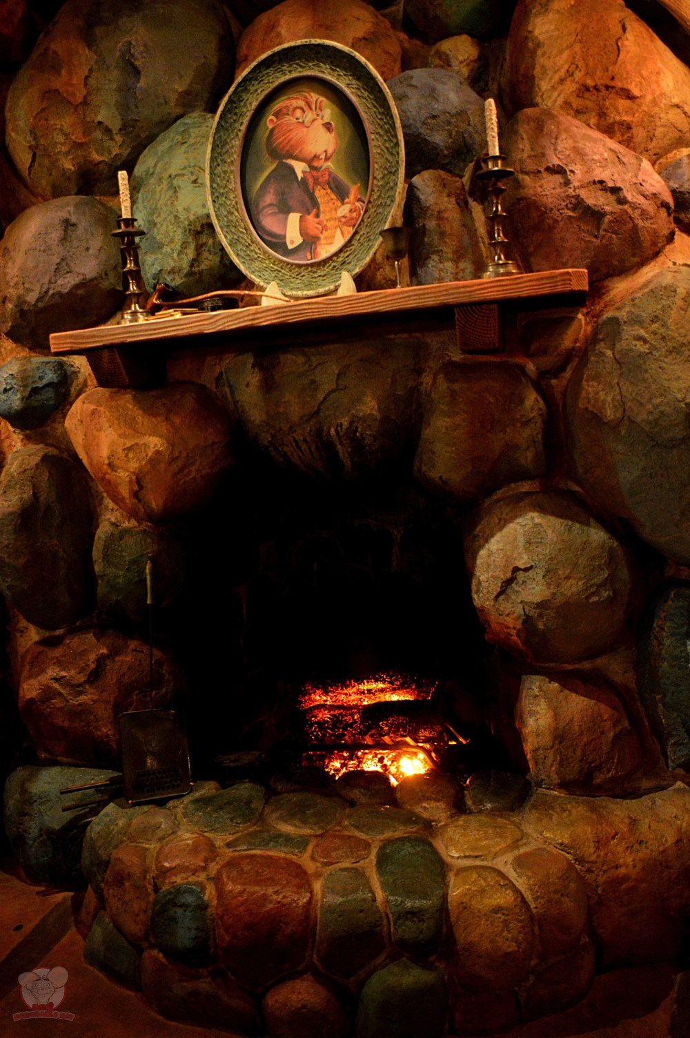 Grandma's Fireplace
